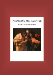 Preaching and Painting - Ridley Hall