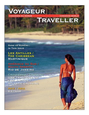 CWT 16 Fall 2005 Issue.qxd - Canadian World Traveller