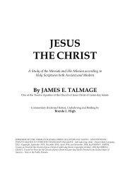 JESUS THE CHRIST - JaredStory.com