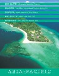 Asia Pacific Pull-Out Supplement - Travel World News