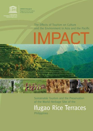 IMPACT: the effects of tourism on culture and ... - unesdoc - Unesco