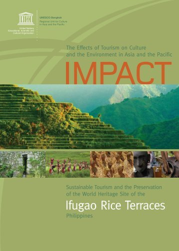 IMPACT: The Effects of Tourism on Culture and ... - unesconatcom.ph