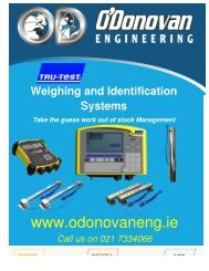 Download our Brochure - O'Donovan Engineering