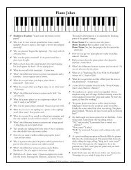 R Piano Jokes - Color In My Piano