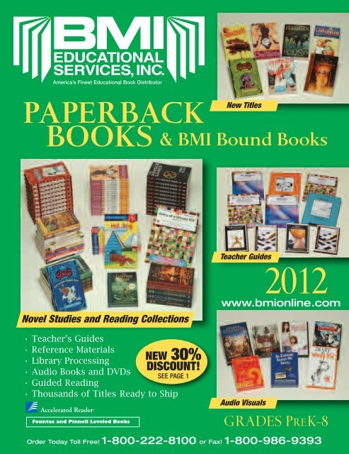 Paperback Books And BMI Bound Book Catalog K BMI