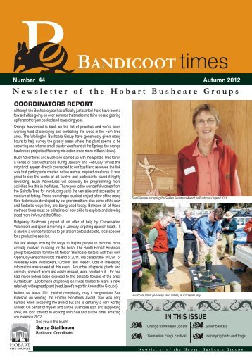 bandicoot - Hobart City Council