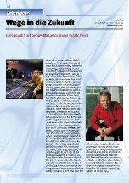 Wege in die Zukunft - Studio Magazin