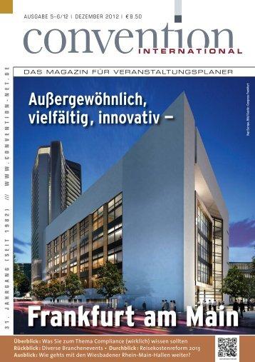 Das gesamte Magazin - Convention-International