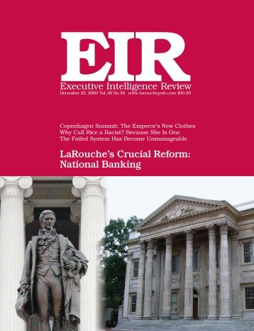subscribe to eir online - Executive Intelligence Review