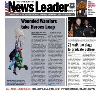 Wounded Warriors take Heroes Leap - Randolph Air Force Base