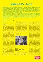 WOW-DAY 2010 - Freunde der Erziehungskunst Rudolf Steiners e.V.