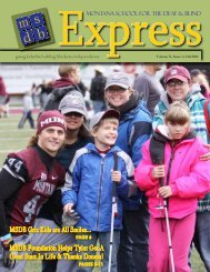 In thIs Issue - Montana School for the Deaf & Blind