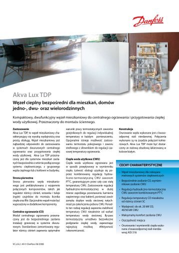 Akva Lux TDP - Danfoss
