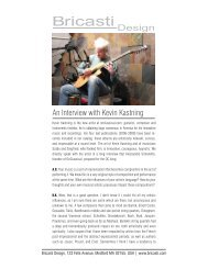 An Interview with Kevin Kastning - Bricasti Design