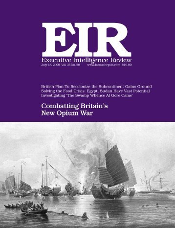 Volume 35, Number 28, July 18, 2008 - Executive Intelligence Review