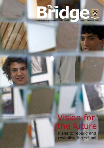 Vision for the future - St Paul's School