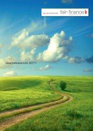Geschäftsbericht 2011 - Fair Finance