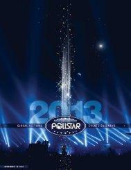 For bookings please contact - PollstarPro