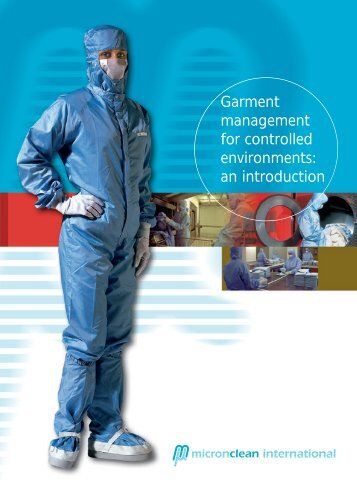 Garment management for controlled environments: an ... - Micronclean