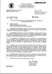 enclosure no 2-secondary result-dspc - Deped Baguio City Division