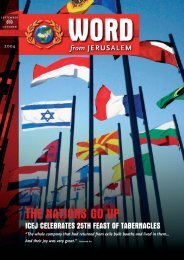 Feast - International Christian Embassy Jerusalem