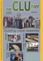 VMCV / VLV Semesterprogramm Winter 2010/2011 - KMV Clunia ...