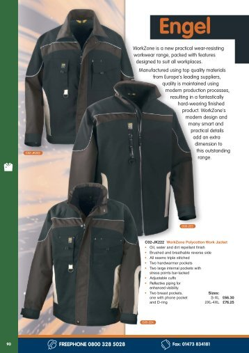 corporate workwear Engel W orkzone clothing - Anchor Safety