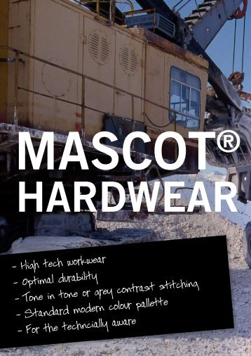 High tech workwear – Optimal durability – Tone in tone or grey ...