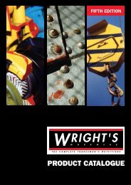 PRODUCT CATALOGUE - Wrights Workwear