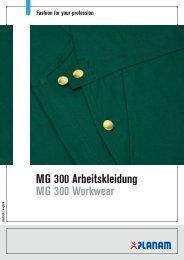 MG 300 Arbeitskleidung MG 300 Workwear - Planam