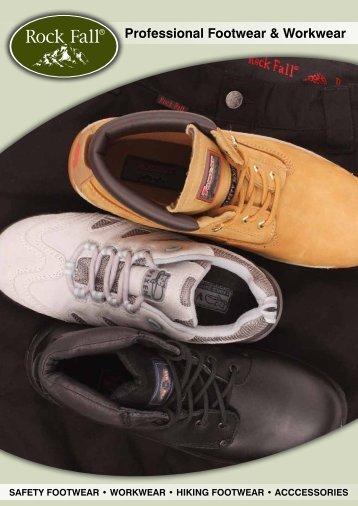 Professional Footwear & Workwear - Rock Fall UK
