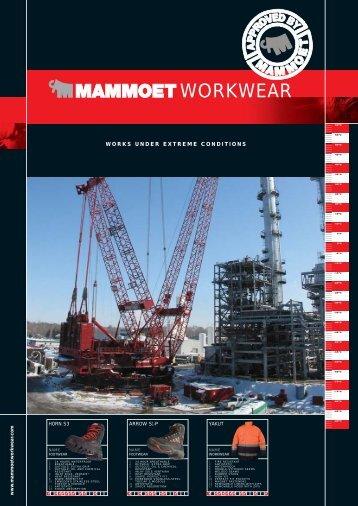 Mammoet Workwear catalogus - pattyn-werkkledij