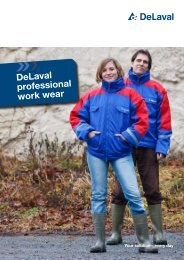 DeLaval professional work wear - No page - DeLaval