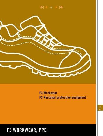 F3 WorkWear, ppe - BTI