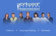 2 Workwear Express Managed Contract Service
