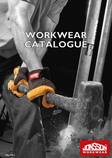 WORKWEAR CATALOGUE - The Jonsson Clothing Group