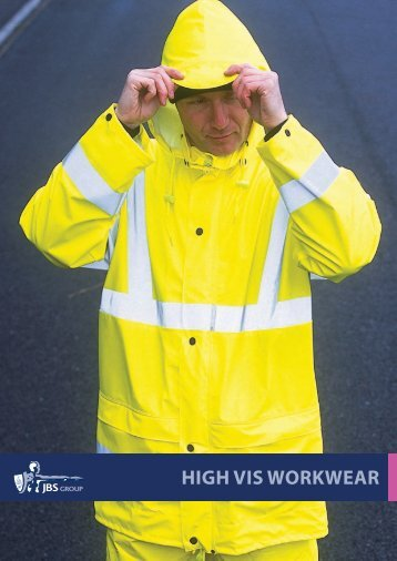 HigH Vis WORKWEAR - JBS Group