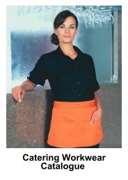 Catering Workwear Catalogue