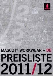 MASCOT® WORKWEAR t DE - Hoffmann Arbeitsschutz