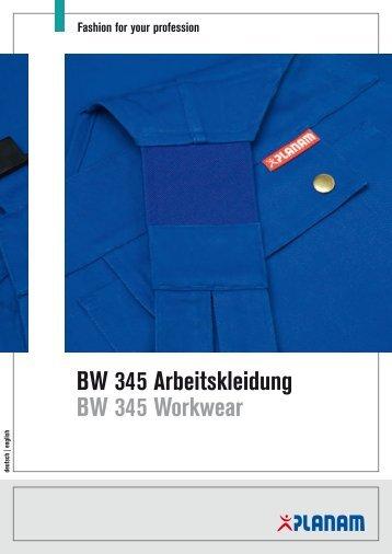 BW 345 Arbeitskleidung BW 345 Workwear - Planam