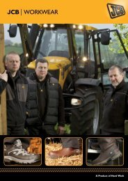 JCB Workwear Catalogue 2012 - Collings Brothers of Abbotsley