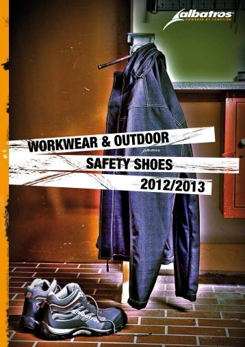 WORKWEAR & OUTDOOR 2012/2013 SAFETY SHOES