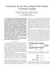 Universality for the Noisy Slepian-Wolf Problem via Spatial Coupling