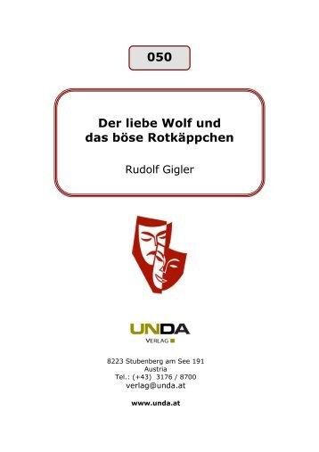 050 Der liebe Wolf und das böse Rotkäppchen - beim Unda Verlag
