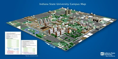 Indiana State University Campus Map
