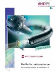Flexible video urethro-cystoscope - KEBOMED