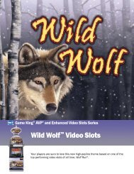 Wild Wolf™ Video Slots - IGT