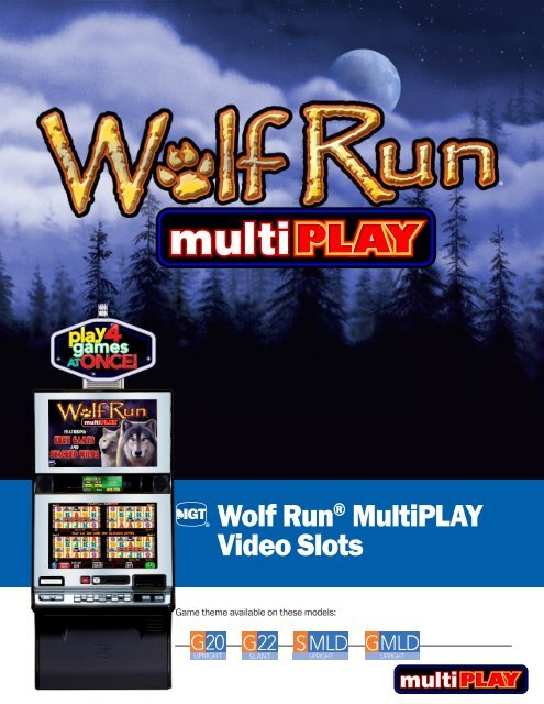Wolf Run® MultiPLAY Video Slots - IGT.com