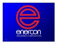 Presentation Slides (PDF) - Enercon Industries Corporation