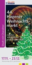 44. Hagener Weihnachts- markt - HAGENagentur